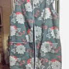 和生地オーダー品、着物の上にはおるベスト