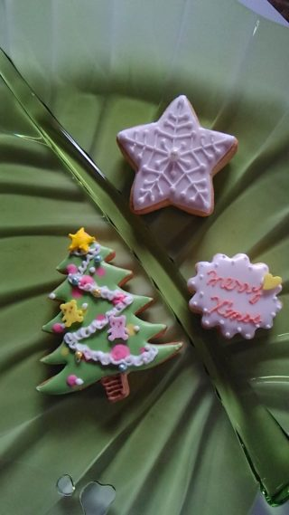 12/6・13 10時~ クリスマスを盛り上げる☆アイシングクッキー 体験レッスン