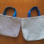 2/11 新一年生のレッスンバッグを作りました
